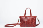 Kamali Leather Crossbody - Red