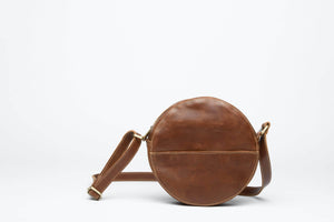 Load image into Gallery viewer, Zuri Circle Bag - Almond Brown