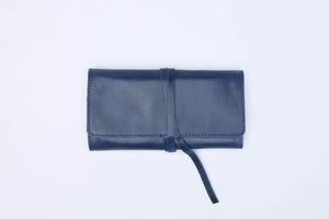 Solid Mesale Wrap Wallet