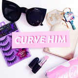 CURVE HIM VINYL STICKER