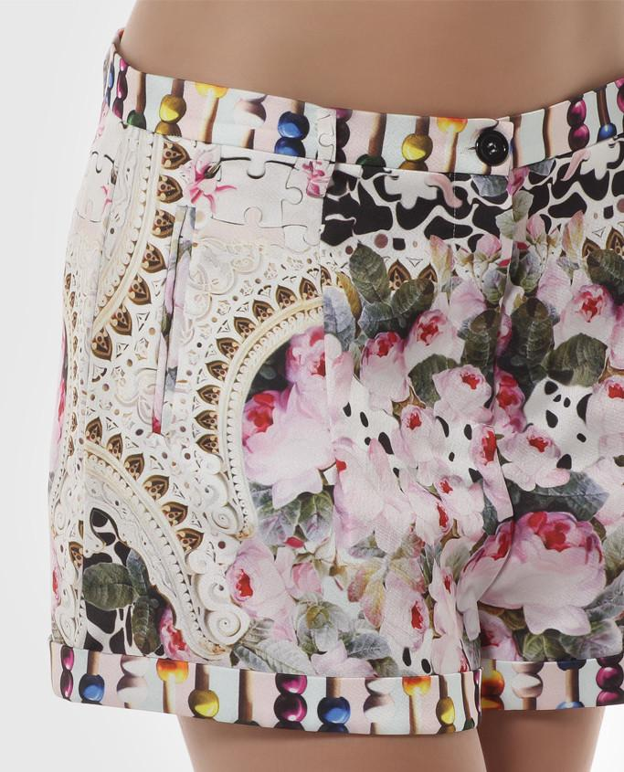 Floral Printed Shorts - Sharp Closet - 1