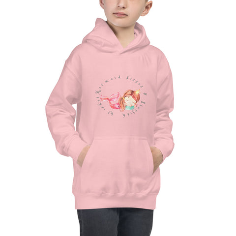 Mermaid Kisses Kids Hoodie