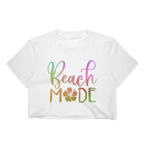 Beach Mode Women's Crop Top