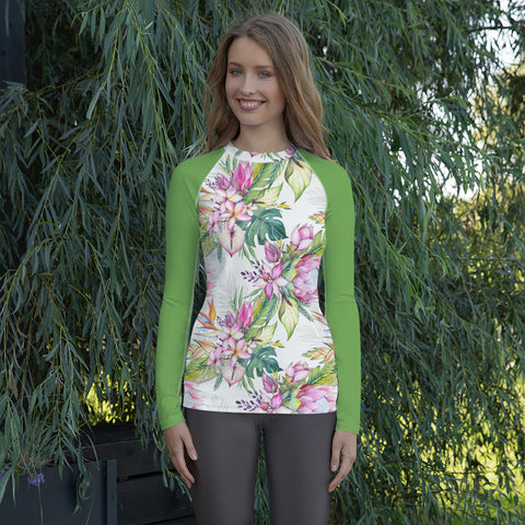 Tropical Delight Women's Rash Guard