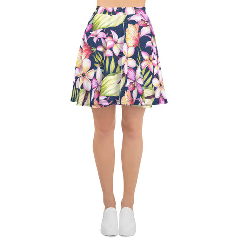 Tropical Delights Skater Skirt
