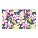 Aloha Guitar Floral Pillow Case only
