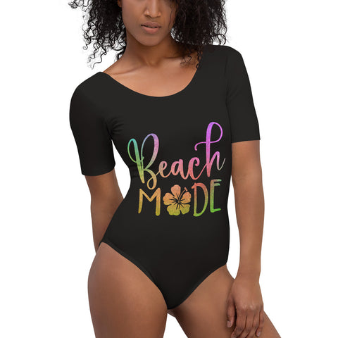 Beach Mode Short Sleeve Bodysuit