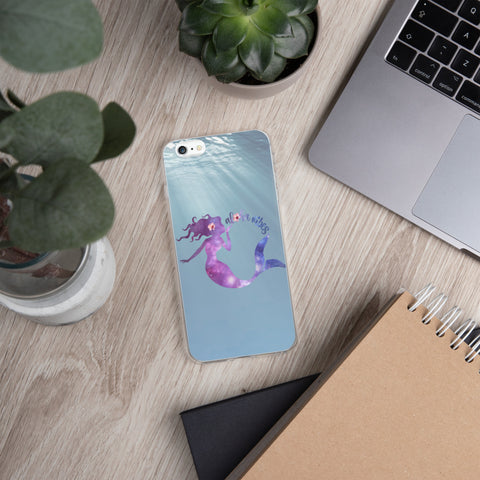 Aloha Vibes Mermaid iPhone Case
