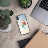 Aloha Vibes Little Mermaid iPhone Case