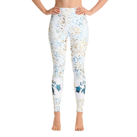 Ohana Blue Yoga Leggings
