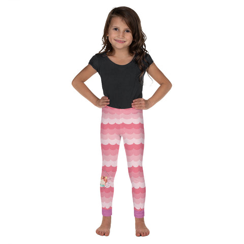 Mermaid Kisses Waves Kid's Leggings