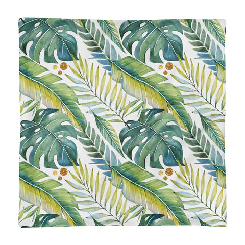Tropical Vibes Basic Pillow Case only