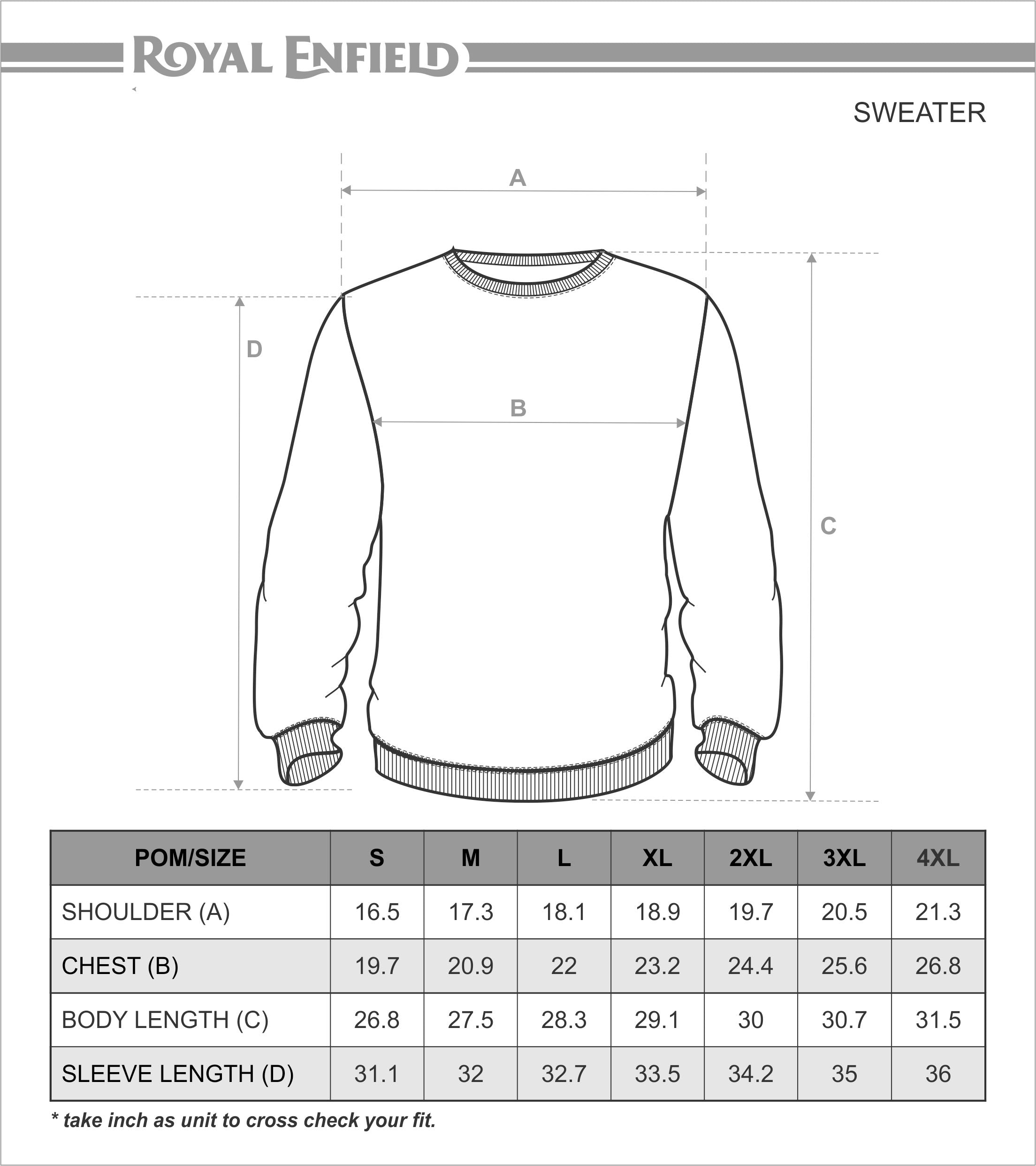 Baby sweater measurements often indicate the measurements for the width, bust circumference and the length of the sweater. Each size, from Infant to 4T up to 5T, has a specific measurement for the width, bust circumference and length so it's best to check your baby's measurements first in these three areas prior to purchasing a new sweater.