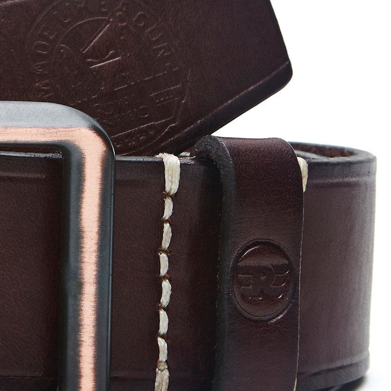 Edge Lined Belt Brown - Royal Enfield