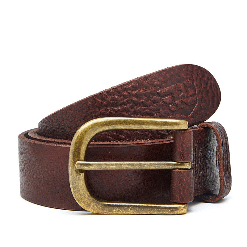 Washed Leather Belt - Royal Enfield - 1