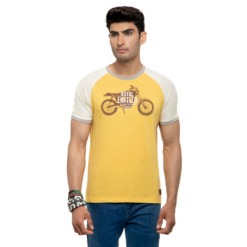 Ride The Legacy T-Shirt-Mimosa Yellow