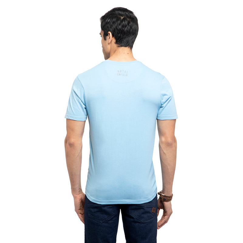 Bullet Meri Jaan T-Shirt-Air Blue
