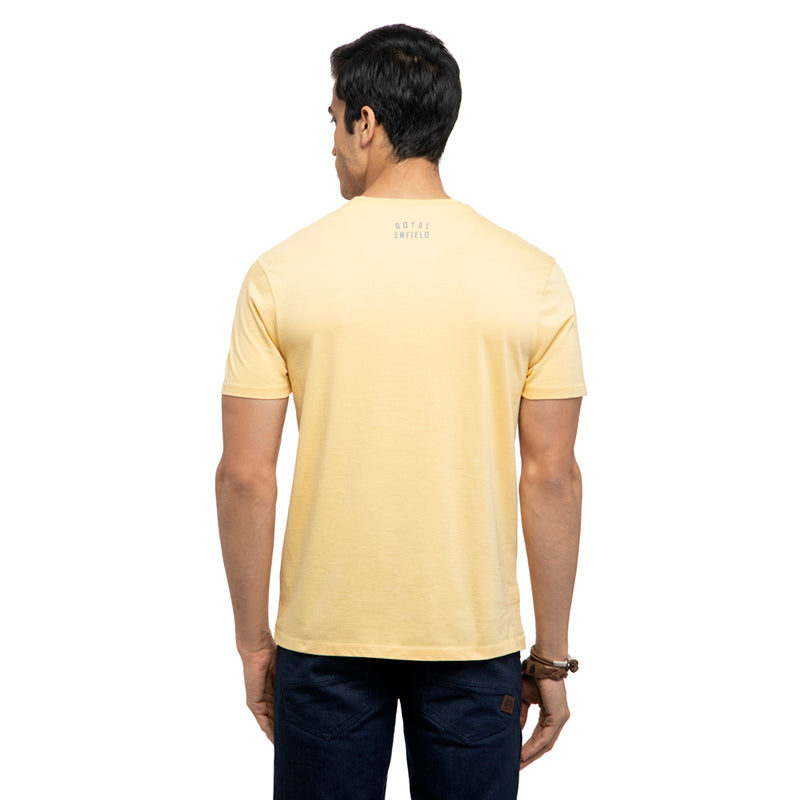 By The Beach T-Shirt-Pale Yellow