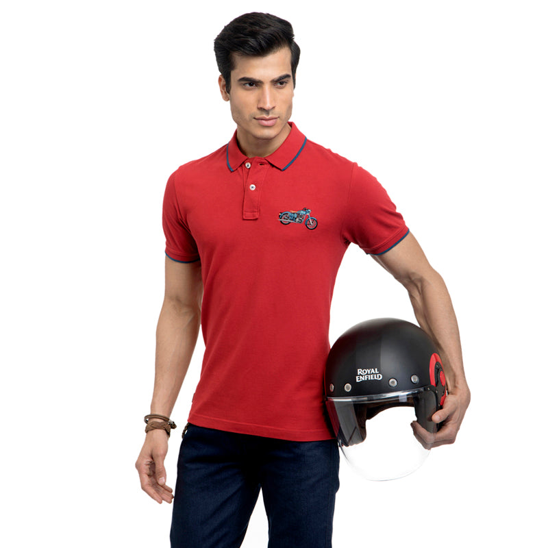 THE CLASSIC POLO T-SHIRT RED