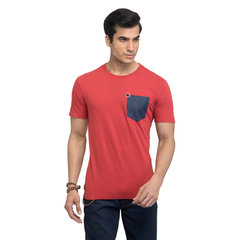 Duo T-Shirt-Red