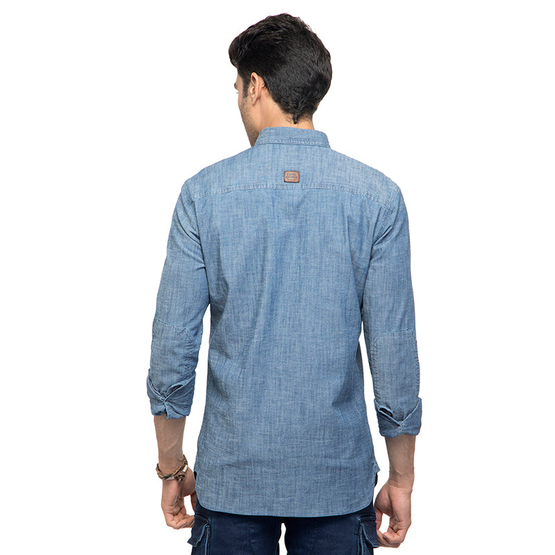 RIDING JERSEY SHIRT - Blue