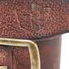Distressed-edge leather belt - Royal Enfield - 2