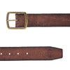Distressed-edge leather belt - Royal Enfield - 3