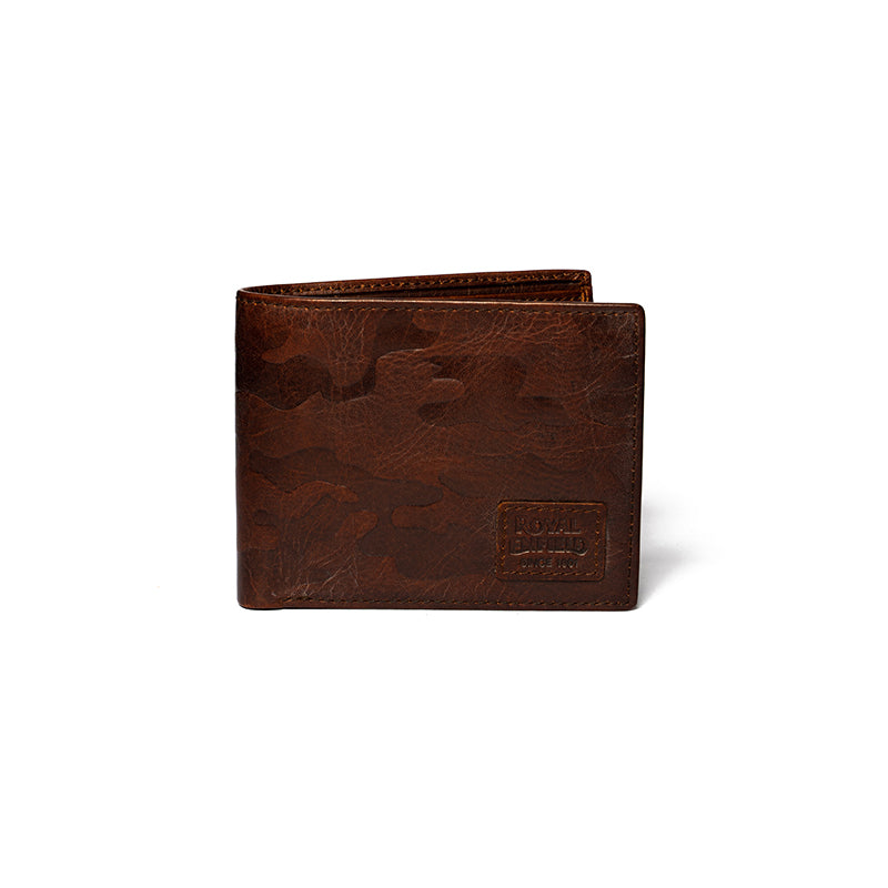 CAMO WALLET-BROWN CAMO