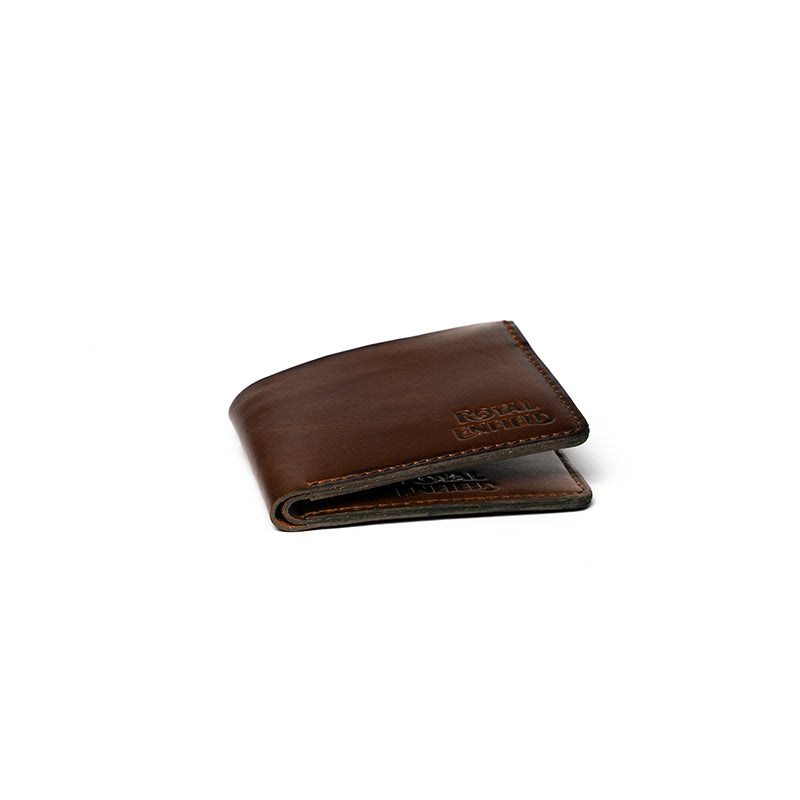 BURNTOUT WALLET-DARK BROWN