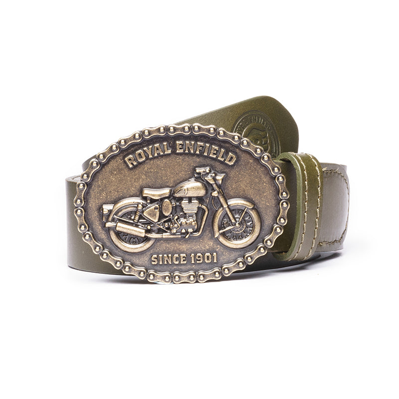 BUCKLE UP BELT-OLIVE