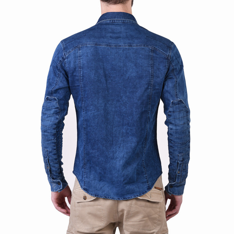 Indigo Shirt Blue - Royal Enfield