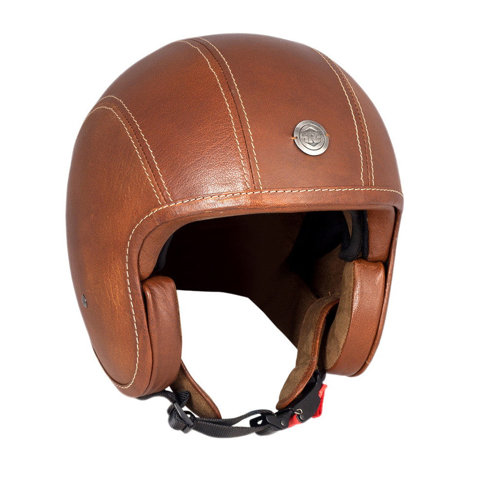 Classic Jet Leather Helmet - Royal Enfield