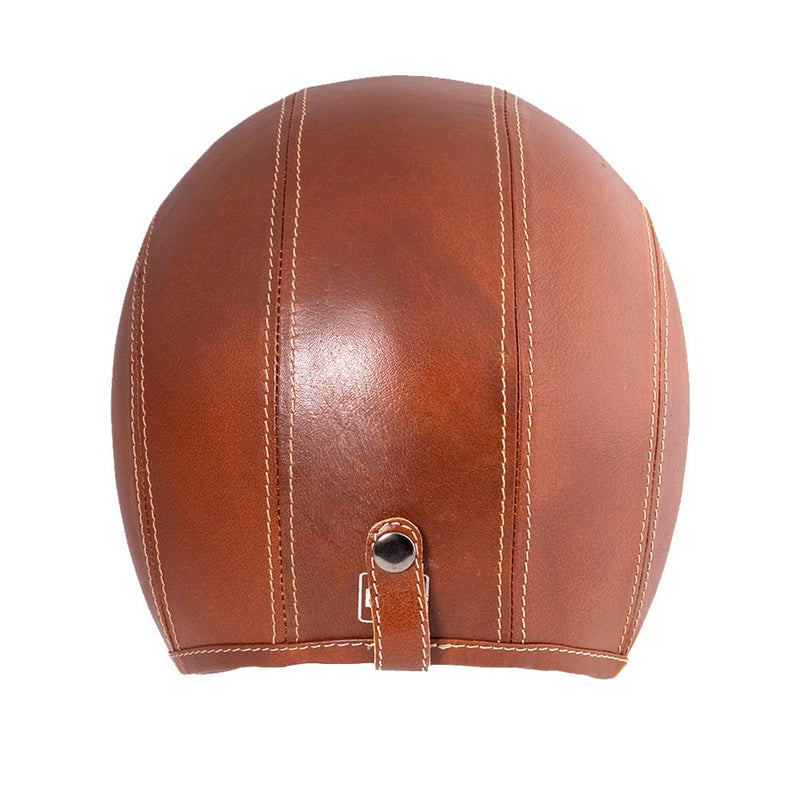 Classic Jet Leather Helmet