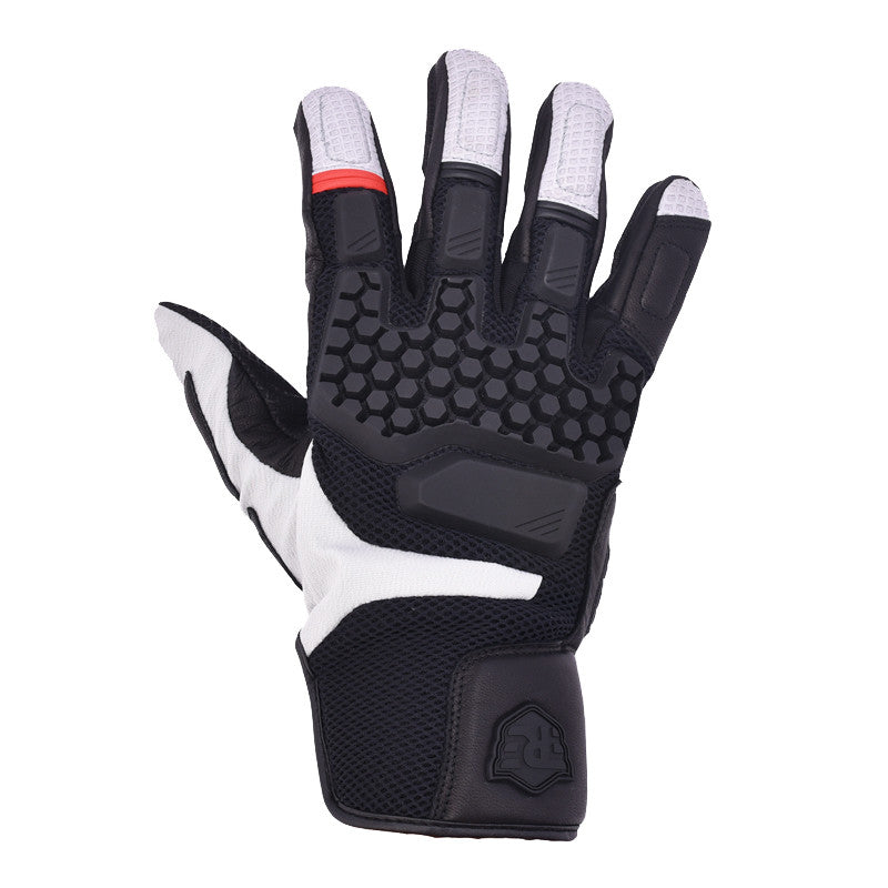 Darcha Warm Weather Gloves Black Silver - Royal Enfield