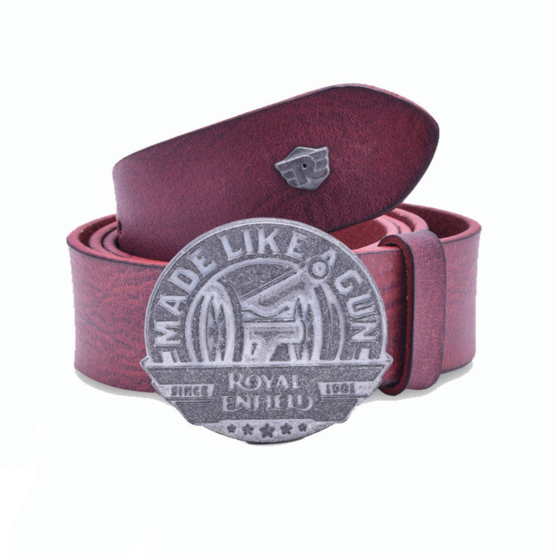 Made Like A Gun - Leather Belt - Royal Enfield