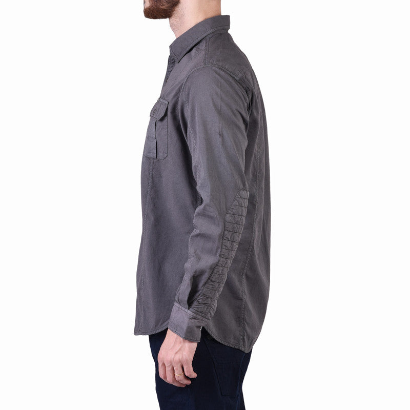 Brandon Over Dyed Shirt Grey - Royal Enfield