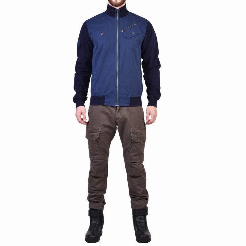 Bolton Sweat Jacket Navy - Royal Enfield