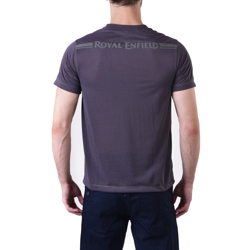 Rapid-dry crewneck tee - Royal Enfield - 2