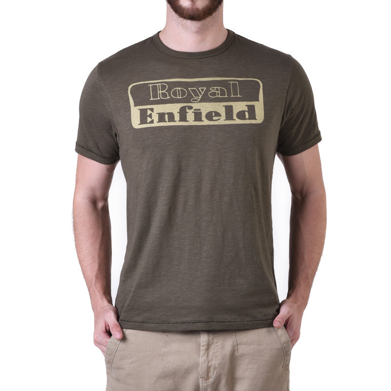 1948 Re Logo Tee Olive - Royal Enfield