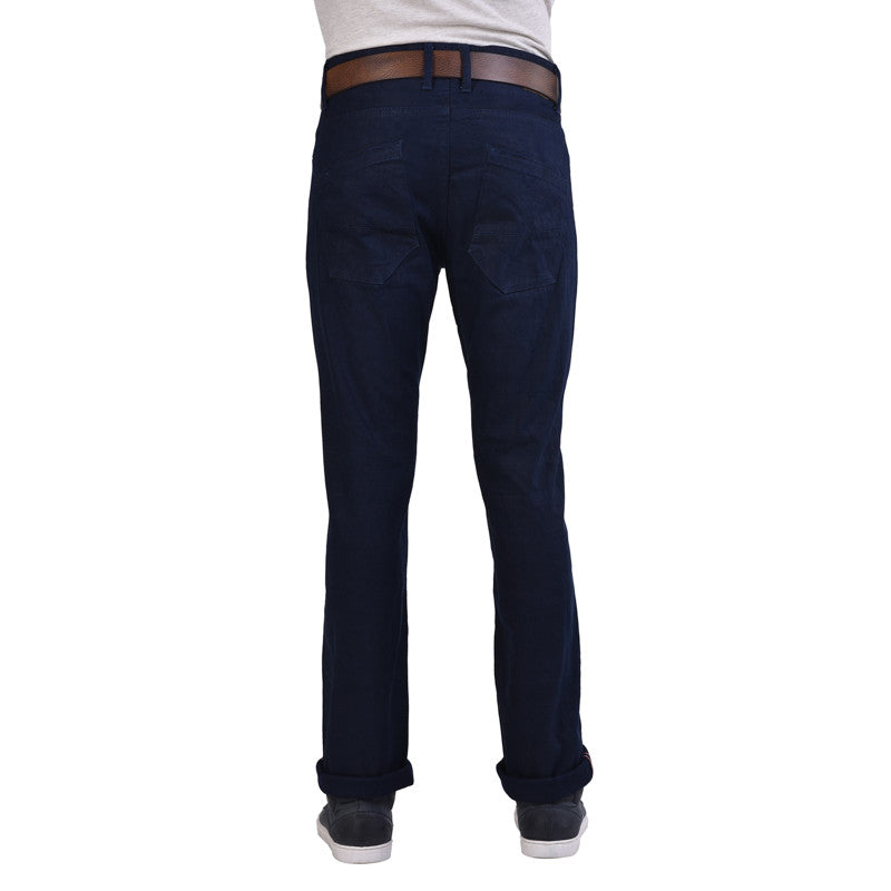 Selvedge Moto Slim Denim Navy