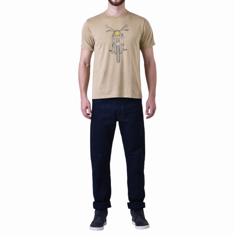 Classic Stance T-Shirt Brown - Royal Enfield