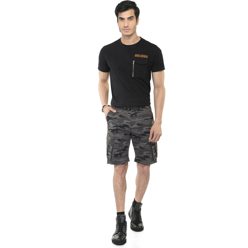 SUMMER SHORTS - GREY CAMO