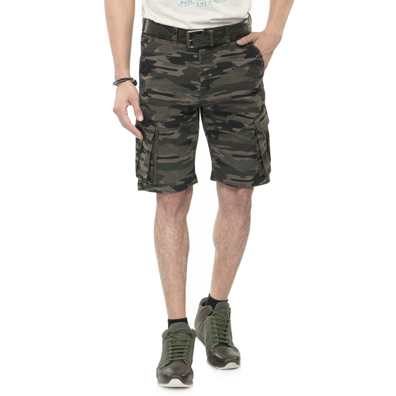 SUMMER SHORTS - OLIVE CAMO