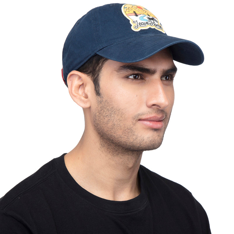 Leave Home Cap-Navy