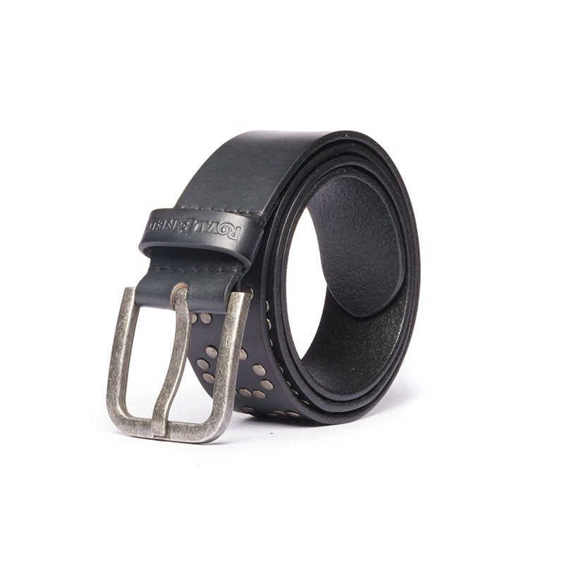 THE STUD BELT-BLACK