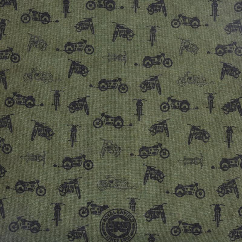 RE motorcycle print - headgear - Royal Enfield - 4