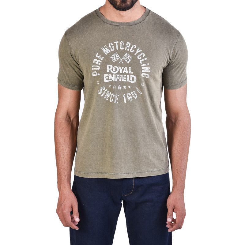Pure motorcycling graphic tee - Royal Enfield - 1