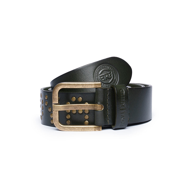 THE STUD BELT-OLIVE