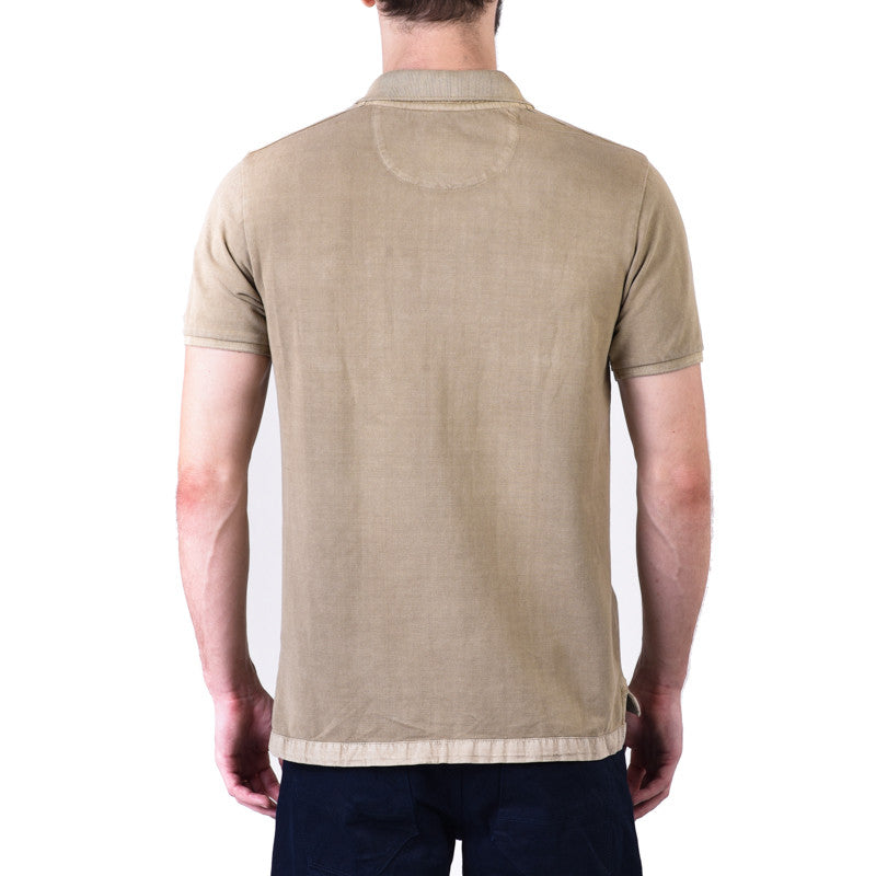 Martial Polo Tee Beige