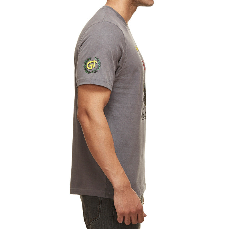 Gt Ton Up Tee Grey - Royal Enfield